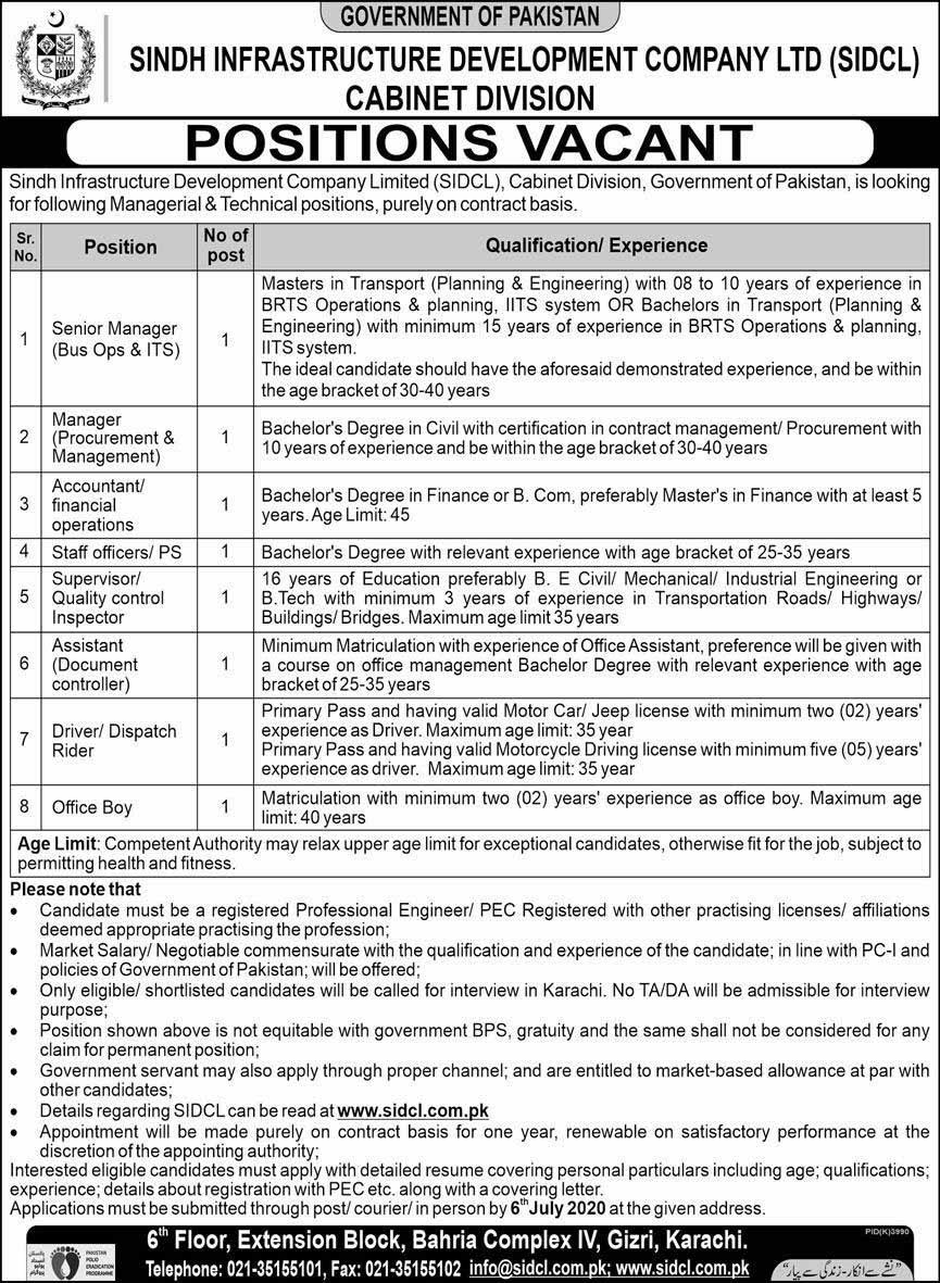 Sindh Infrastructure Development Company