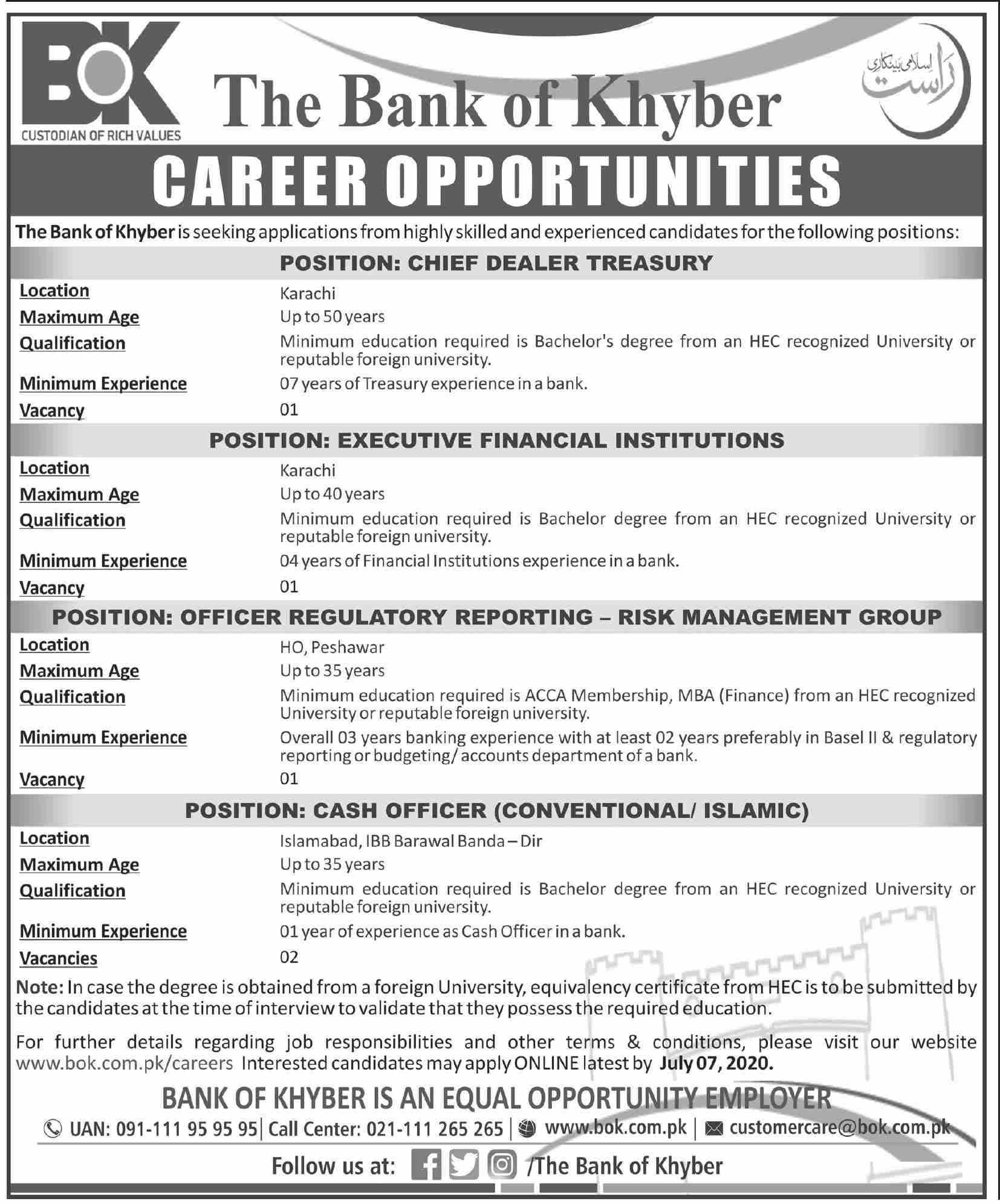 Chief Executive Officer Finance Officer Cash Officer Risk Management Specialist