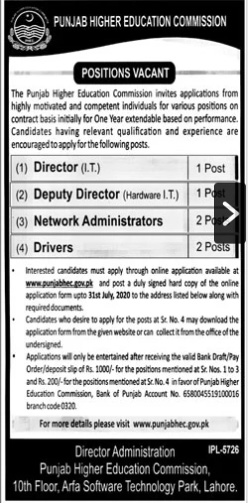 Director IT Deputy Director Network Administrator Driver
