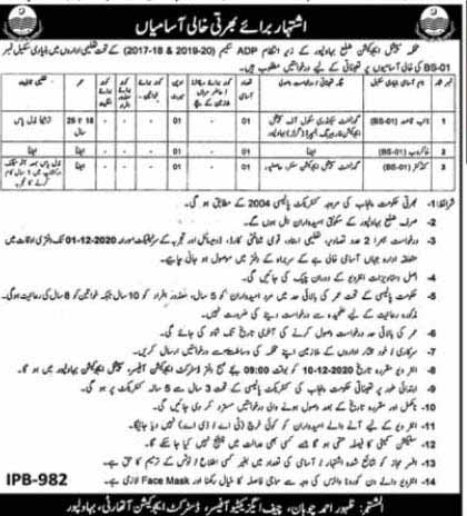 Special Education Department Jobs 2020 Bahawalpur