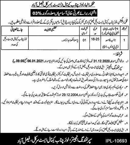 Naib Qasid Jobs in Faisalabad