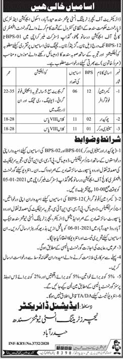 School Education and Literacy Department Jobs in Hyderabad