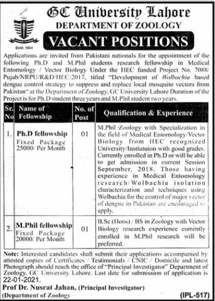 Govt College University GCU Lahore