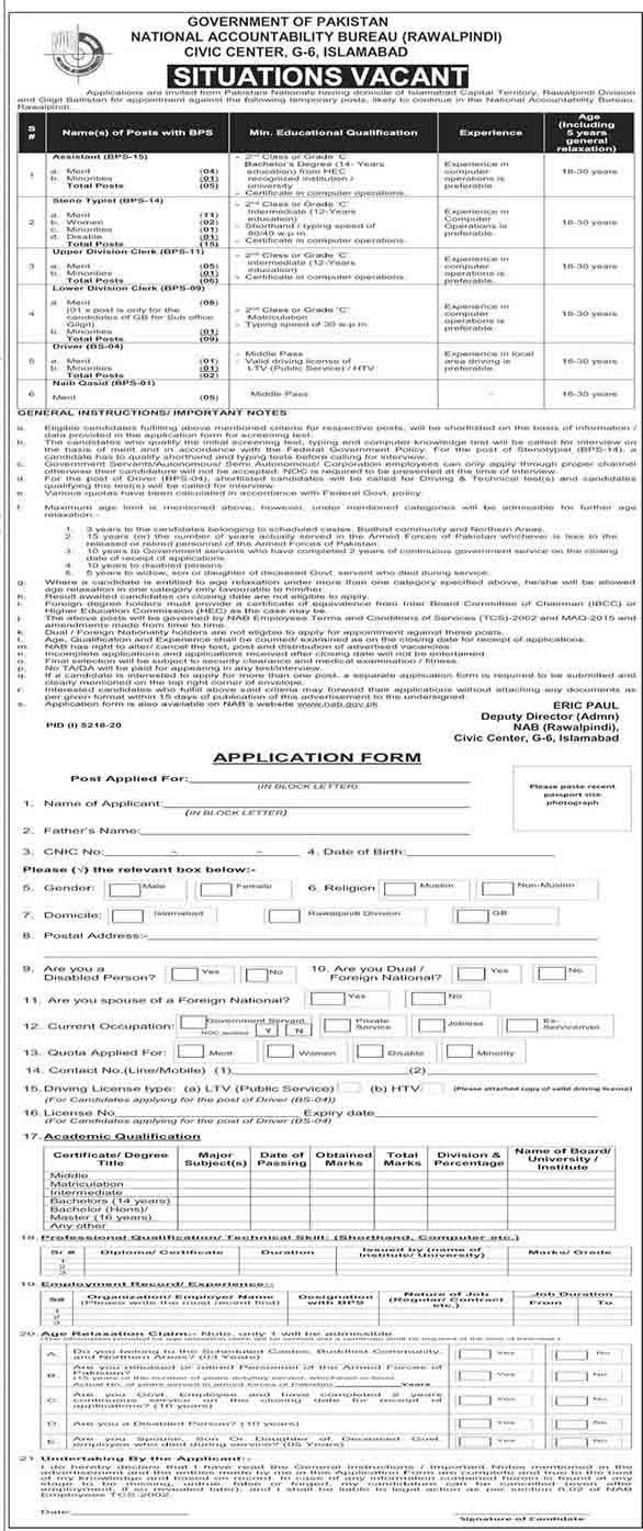National Accountability Bureau (NAB) March 2021